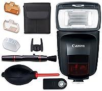 Canonスピードライト470ex-ai Flash withクリーニングペン+ダストブロワー+リモートコントロール+アクセサリーバンドル