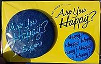 嵐 ARASHI 2016-2017 Are You Happy? 公式グッズ バッジセット 【札幌】