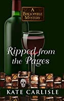 Ripped from the Pages (Bibliophile Mysteries: Wheeler Publishing Large Print Cozy Mystery)