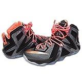 Nike LEBRON(ナイキ レブロン) レブロン XII エリート (Black/Metallic Red Bronze/White/ Hot Lava) - US10(28cm) [並行輸入品]