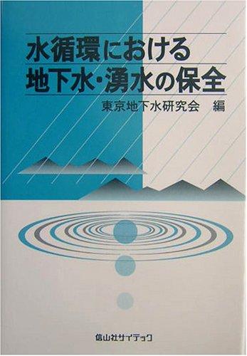 水循環における地下水・湧水の保全