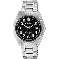 [シチズン キューアンドキュー]CITIZEN Q&Q 腕時計 Falcon ファルコン アナログ ブレスレット 日付 表示 ブラック D024-205 メンズ