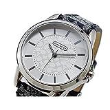 [コーチ] COACH 腕時計 シグネチャーインデックス シグネチャーストラップ レディス レザーストラップウオッチ 14501524 [並行輸入品]