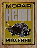 Mopar Tin Sign, 12x16 by Poster Discount