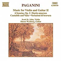Music For Violin & Guitar V.2 by NICCOLO PAGANINI (1994-10-04)