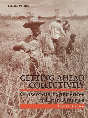 Download Getting Ahead Collectively: Grassroots Experiences in Latin America 1483125807