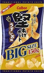 カルビー ビッグサイズ 堅あげポテト うすしお味 150g × 9袋