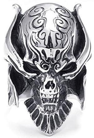 PW 高品質チタン製牙狼ザルバ仕様指輪リンク 21859 シルバー(銀色) 【ラッピング対応】