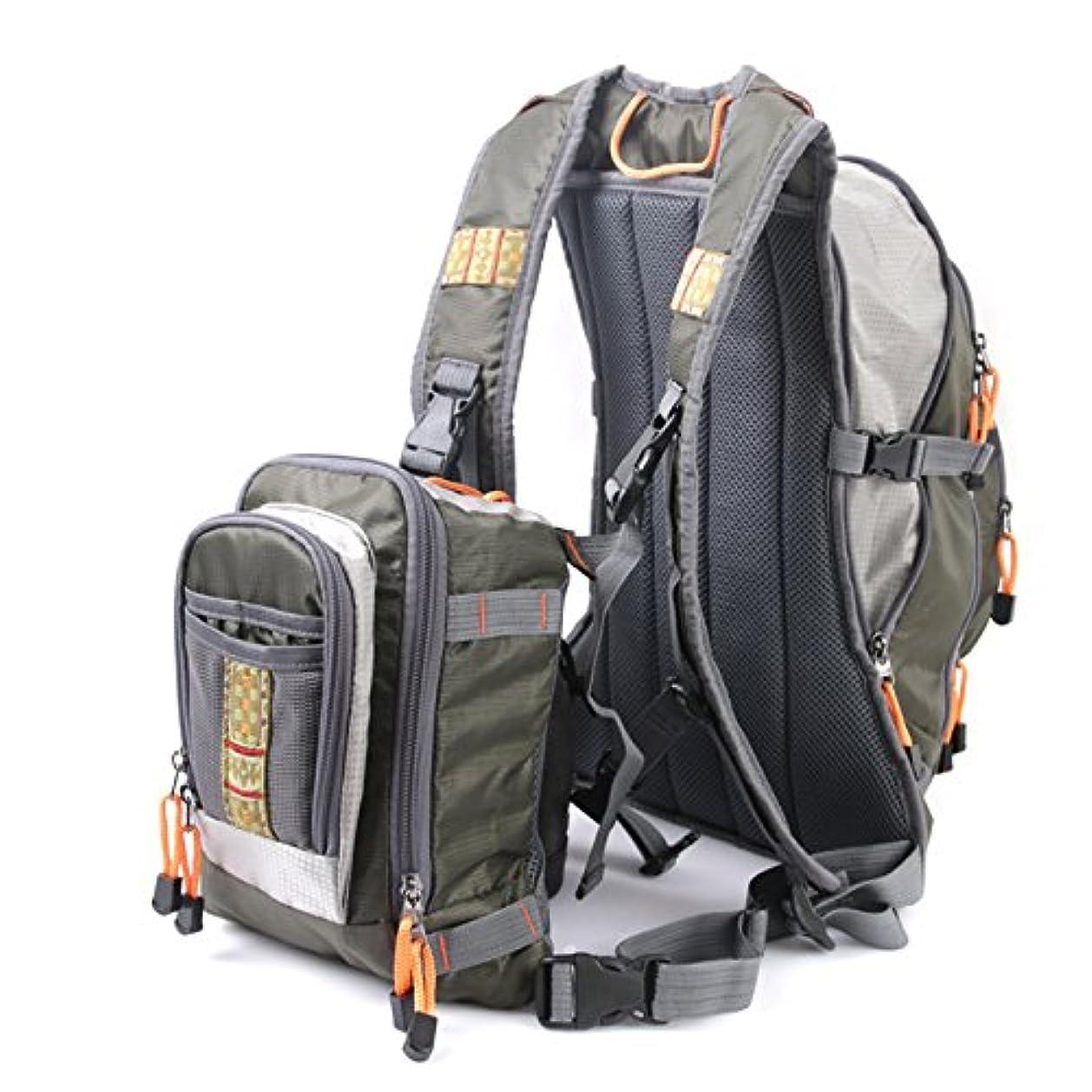 スポークスマンあなたはジュニアMaxcatch Fly Fishing Backpack with Tackle Chest Pack