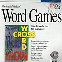 [CD-ROM] Word Games by Pro One for Multimedia Windows 3.1, 95 or higher (輸入版)