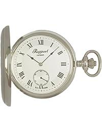 [ラポート]RAPPORT 懐中時計 手巻き スモールセコンド ハンターケース PW21 【正規輸入品】