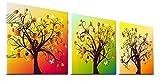 (K-JOY) 絵画 アートパネル インテリア 壁掛け ポスター パネル/ オフィス 新築祝い 結婚祝いF309 (幸福の木 09, 30cm×30cm)