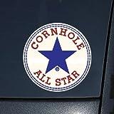 コンバース オールスター Cornhole AllstarコンバースNovelty )デカールステッカー
