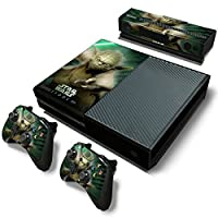 FreeSticker Designer Skin Game Console System plus 2 Controller Decal Vinyl Protective Covers Stickers f MICROSOFT XBOX ONE STAR WARS GALAXY FORCE JEDI MASTER YODA EPISODE 3 [並行輸入品]