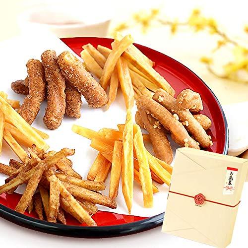 お歳暮 ギフト お芋かりんとう 詰め合わせ 和菓子ギフト (6種・BOX入り)