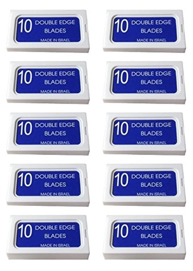 ピクニック元に戻すくまPersonna Crystal 両刃替刃 100枚入り(10枚入り10 個セット)【並行輸入品】