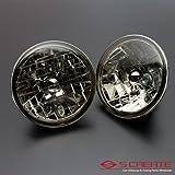 S CREATE(エスクリエイト) 高品質 クリスタルスモークヘッドライト ダットサン・サニー(B10系 B110系 B210系) / ガラスヘッドライト H4タイプ