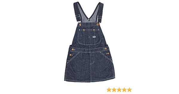 57fa827af9f68 Amazon.co.jp:  リー  ベビー キッズ オーバーオールスカート OVERALL SKIRT ガールズ 300 インディゴブルー 61562  150  ベビー マタニティ