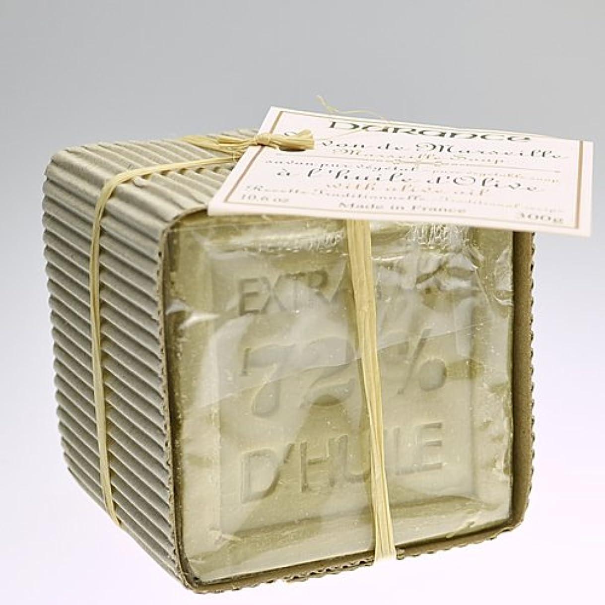 一元化する膨らみ法的DURANCE(デュランス) マルセイユソープ 300g 「オリーブ」 4994228008435