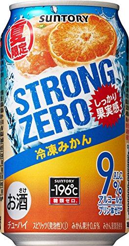 サントリー -196℃ ストロングゼロ 冷凍みかん 350ml×24本