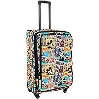 Disney - Comic 28 Inch Large 4 Wheel Softside Suitcase