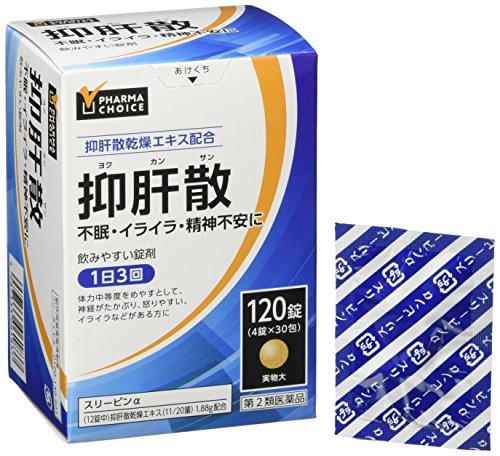 【Amazon.co.jp 限定】【第2類医薬品】 PHARMA CHOICE 抑肝散 スリーピンα 120錠