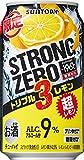 【ストロングゼロ史上最強のレモン感】 -196℃ ストロングゼロ トリプルレモン 350ml×24本
