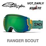 スミス (SMITH) ゴーグル メンズ レディース 限定アーリーGOGGLE スペアレンズ付 I/O 7 EARLY CHRO-RANGER S-R 16-17 16SSWI RANGER/SUN
