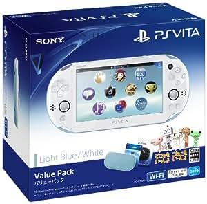 PlayStation Vita Value Pack ライトブルー/ホワイト