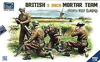 Riich Models #RV35022 1:35 英国 3インチ モルタルチーム 北西ヨーロッパキット