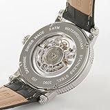 腕時計 エモーション スケルトン レザー ブラック/ホワイト ブルーローマン 3390SKRWH メンズ エポス画像④