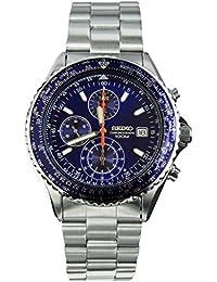 セイコー SEIKO クロノグラフ クオーツ 腕時計 SND255P1 ブルー [並行輸入品]