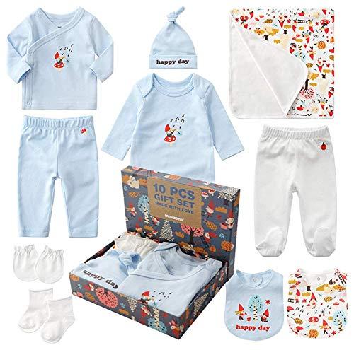 45385159e8348 ベビー服 出産祝い 男の子 女の子 10点 ギフトセット 新生児 服 赤ちゃん ベビー用品 出産準備