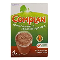 Complan Rich Chocolate Flavour Drink, 4 x 55 g sachest by Complan