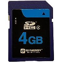 Pentax Optio rs1000デジタルカメラメモリカード4GB安全デジタル高容量(SDHC)メモリカード