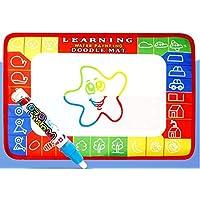 HuaQingPiJu-JP 子供のための絵画の描画を書くためのDoodle Mat Magic Doodle Drawing Board