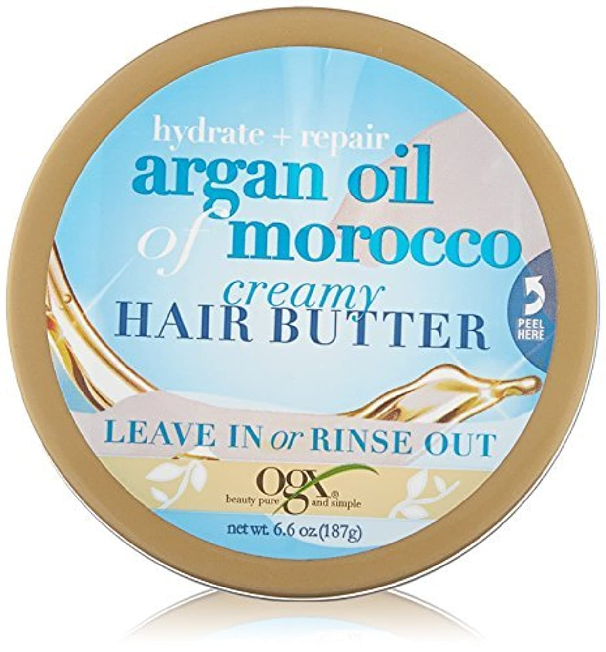 八百屋モートキャプションOGX Hydrate Plus Repair Argan Oil of Morocco, 6.6 Ounce [並行輸入品]