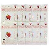 Pure Smile ピュアスマイル ミルクエッセンスマスク イチゴミルク 10枚セット
