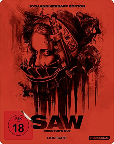 Saw/10th Anniversary Steelbook Edition [Blu-ray] [Import allemand]