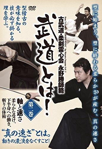 古武道・柔剣雷心会 永野勝師範 武道とは!  第2巻 軸と速さ [DVD]...