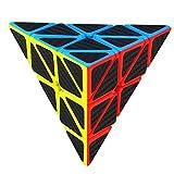 スピードキューブ 炭素繊維ステッカー 立体パズル  スピードキューブ (Luxury EDC Infinity Cube) キューブ  おもちゃ ストレス解消  ADD & ADHD 集中力を向上し 不安を軽減し 知育おもちゃ  (彩色, 立体パズル )