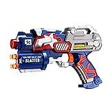 ストライクエリートダーツガン Newisland ビッグリーグブラスター銃 ユニバーサルマイクロダーツとシューティングターゲット付属(ブルー)