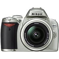 Nikon デジタル一眼レフカメラ D40 レンズキット シルバー D40SLK