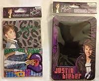 """Justin Bieber 2pcロッカーマグネット& 1磁気フレーム4"""" x6"""""""