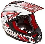 Honda(ホンダ) オフロードヘルメット XP913 CHARGER ホワイト/レッド Lサイズ 0SHTP-X913-W1L