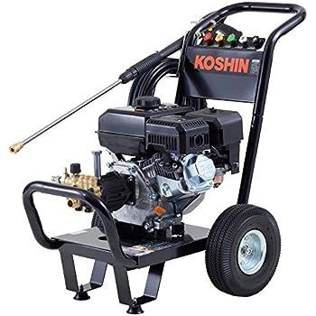 工進 エンジン式高圧洗浄機 14mpa 車輪付タイプ JCE-1408UDX
