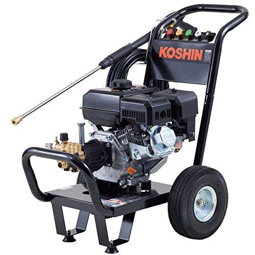 工進 エンジン式高圧洗浄機 14mpa 車輪付タイプ JCE...
