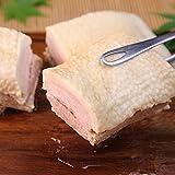 【三代目!肉工房 松本秋義】添加物を一切使用しない自然の豚の旨味。塩だけで作る まっしろ煮豚400g / 煮豚 チャーシュー 焼豚 焼き豚 やきぶた 豚バラ バラ肉 ばら肉 ブロック とろとろ 豚の角煮 ラーメン らーめん ラーメン用 らーめん用 玉子飯 チャーハン 焼飯 業務用 パック 作り方 たれ タレ 豚肉 肉 おつまみセット つまみ 厚切り セット 無添加