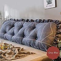 ソファ ベッド ウェッジクッション 背もたれ 枕 測位サポート 枕 くさび,厚い 布張り ヘッドボード プリンセス 読ん 抱き枕クッション,腰椎 枕を投げる-g 185x45cm(73x18inch)