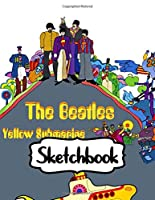 "Sketchbook: Music 60s 70s John Lennon The Beatles Rock Fans , Large Notebook for Drawing, Doodling or Writting: 110 Pages, 8.5 "" x 11"". Kraft Cover Notebook ( Blank Paper Drawing and Write Sketchbook )"